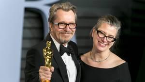 Gary Oldman und Gisele Schmidt