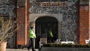 London: Nach Mordversuch an Agenten: Auch ein britischer Polizist wurde vergiftet