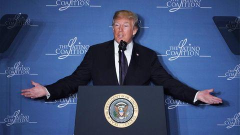 US-Präsident Donald Trump hält die Welt mit seinen wirtschaftspolitischen Entscheidungen in Atem