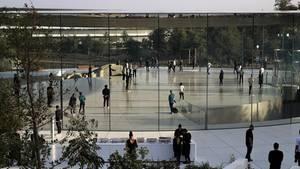 Die neue Apple-Zentrale in Cupertino, Kalifornien