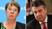 Sigmar Gabriel und Barbara Hendricks werden neuer Bundesregierung nicht angehören