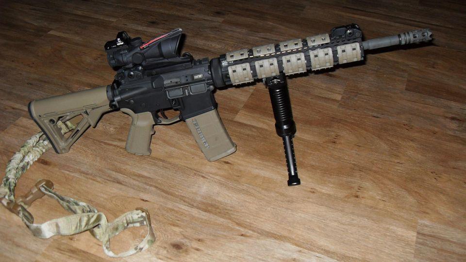 """Eine individuell zusammengestellte """"custom made"""" Ar-15"""