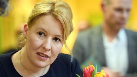 Franziska Giffey (SPD), die bisherige Bezirksbürgermeisterin von Berlin-Neukölln