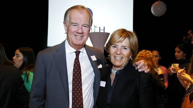 Heimlich und mächtig: Karl-Johans Vater, Stefan Persson, hier mit Ehefrau Carolyn Denise, gehören rund 30 Prozent von H&M. Das Unternehmen ist an der Börse rund 24 Milliarden Euro wert