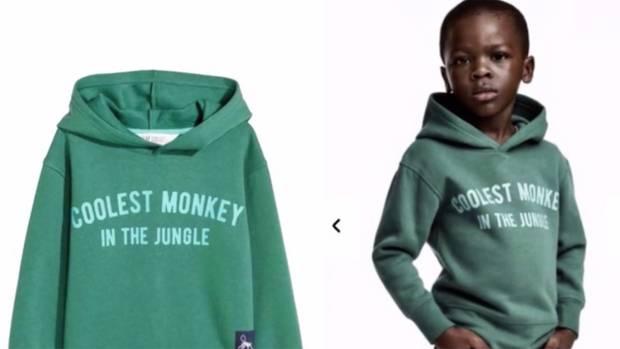 """Der Junge im H&M-Pulli mit dem Aufdruck """"Der coolste Affe im Dschungel"""" sorgte weltweit für einen Skandal"""