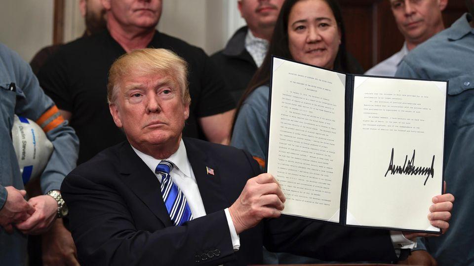 US-Strafzölle: Donald Trump stößt die Welt vor den Kopf - die scharfen Reaktionen