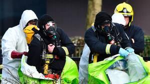 England: 21 Menschen nach Nervengift-Attentat auf russischen Agenten medizinisch versorgt