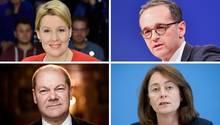 GroKo-Kabinett ist offiziell komplett: Das ist die SPD-Ministerriege
