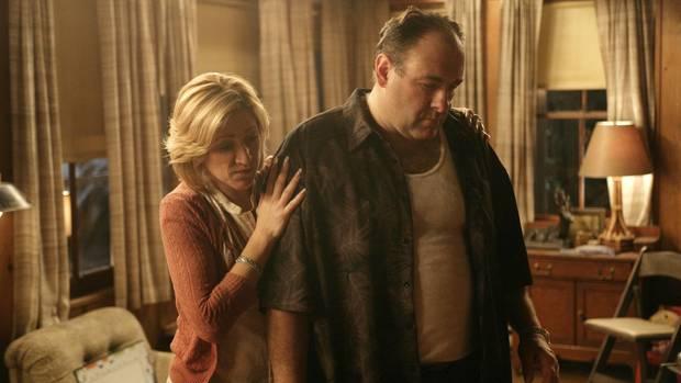 Die Sopranos: James Gandolfini und Edie Falco als Tony und Carmela Soprano