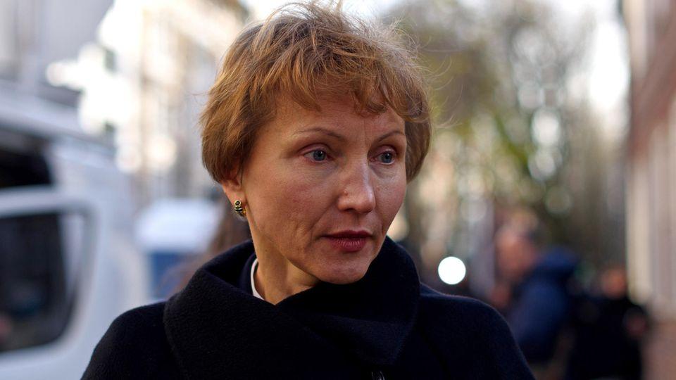 Marina Litwinenko verlor vor elfeinhalb Jahren ihren Mann Alexander.