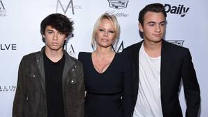 Pamela Anderson, Dylan Lee und Brandon Lee