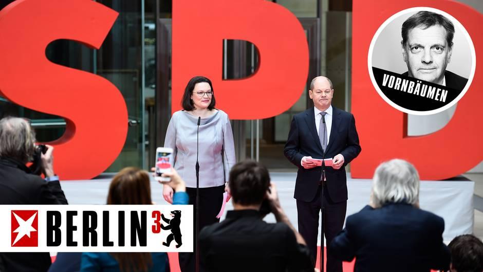 Andrea Nahles und Olaf Scholz: ... dann kann die GroKo ja bald loslegen