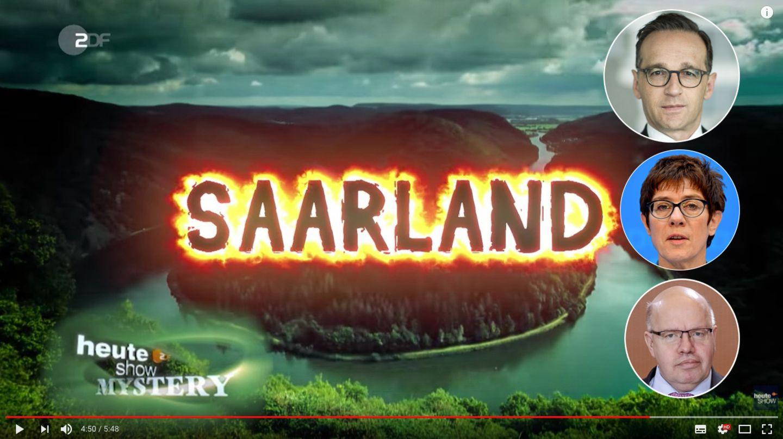 Saar-Connection: Das Saarland - Deutschlands heimliches Zentrum der Macht