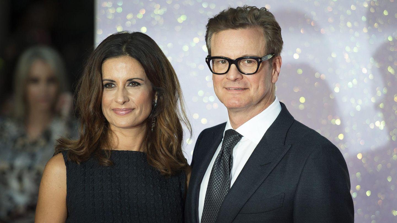 Colin Firth und seine Ehefrau Livia