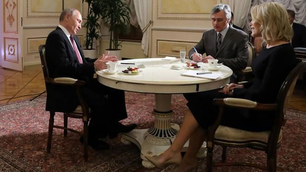 """Megyn Kelly befragt Putin zu """"Russia-Gate"""". """"Na und?"""" ist Putins häufigste Antwort"""