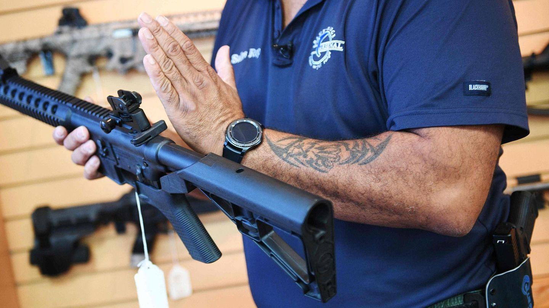 Sollen in Florida künftig erst an Personen verkauft werden, die mindestens 21 Jahre alt sind: halbautomatische Sturmgewehre