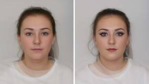 Einer Studie zufolge werden Frauen mit viel Make-up im Gesicht als schlechtere Führungskräfte eingeschätzt