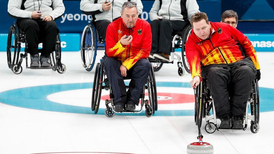 paralympics 2018 - rollstuhl-curling