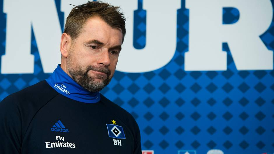 HSV-Trainer Bernd Hollerbach