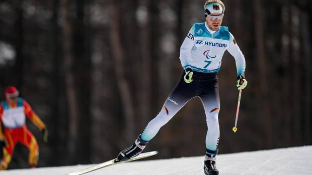 Steffen Lehmker beim Langlauf