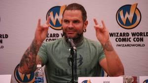 "Profi-Wrestler Jeff Hardy bei der ""Wizard World Comic Con"""