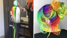 Haare färben - ganz unkonventionell
