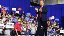 Donald Trump lässt sich feiern