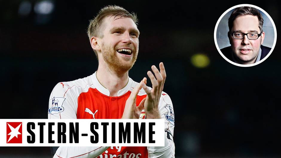 """Sprach mit dem """"Spiegel"""" ausführlich über den Druck im Profisport: Fußballer Per Mertesacker"""