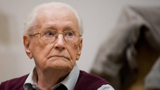 Oscar Gröning von der Waffen-SS
