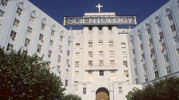 Der Hauptsitz der Scientology-Organisation in Los Angeles