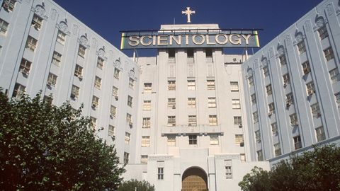 Der Hauptsitz der Scientology-Organisation in Los Angeles