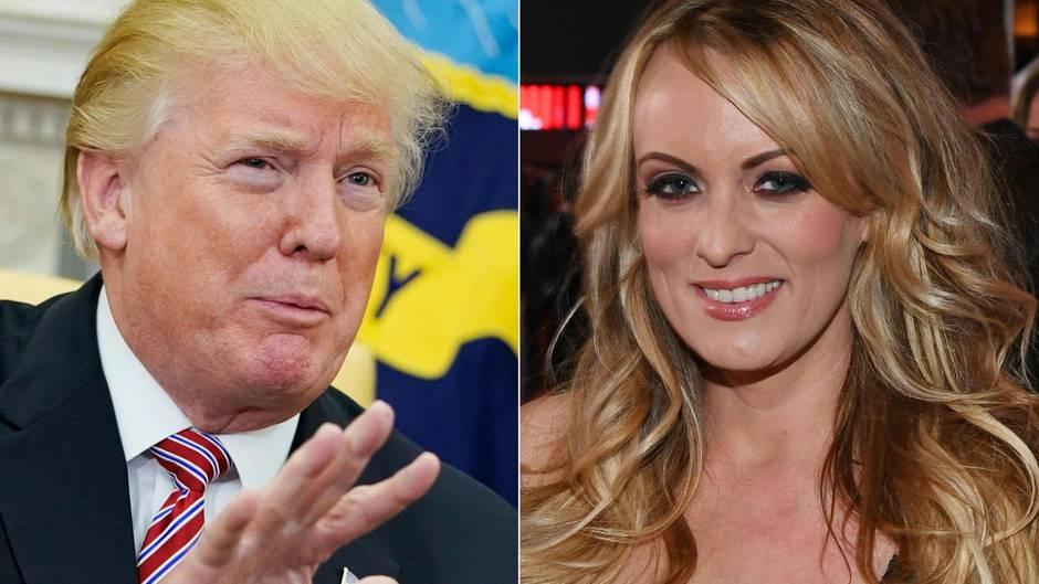 Stormy Daniels und Donald Trump