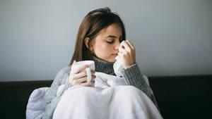 Erkältungen werden durch Viren ausgelöst