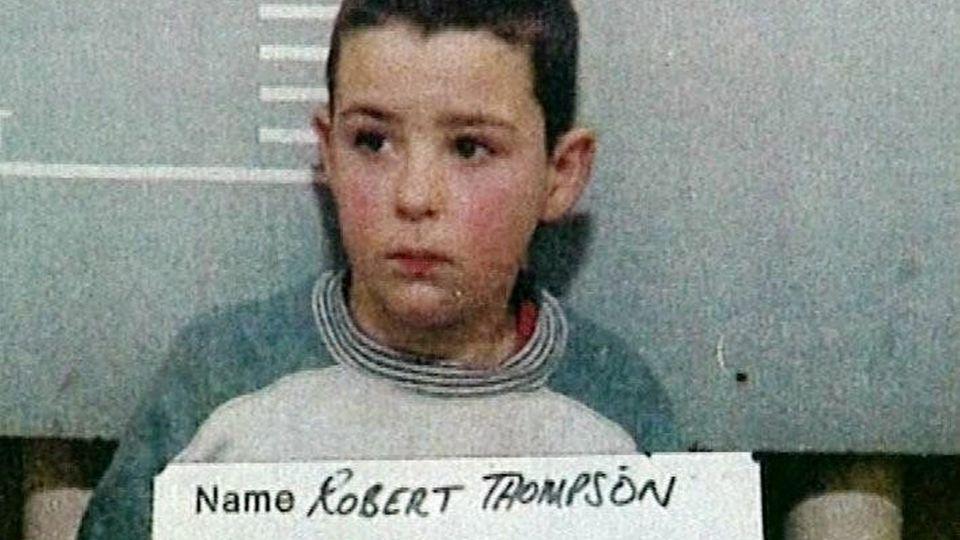 Robert Thompson auf einem Polizeifoto