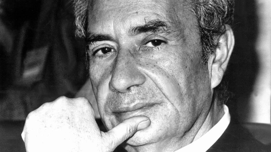 Aldo Moro von der Partei Democrazia Cristiana war zwei Mal italienischer Ministerpräsident