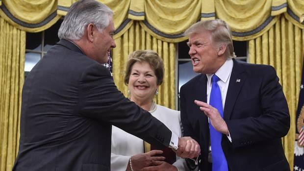 Donald Trump Rex Tillerson
