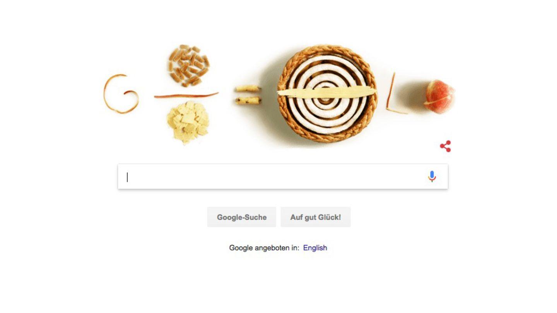 Der Pi-Tag wird am heutigen 14. März als Google Doodle gefeiert - mit Törtchen