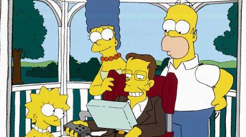 Stephen Hawking bei den Simpsons