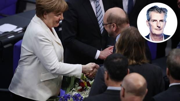 Merkel ist wiedergewählt