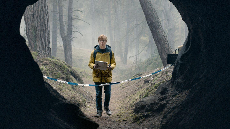 Louis Hofmann in einer Szene aus der Netflix-Serie Dark