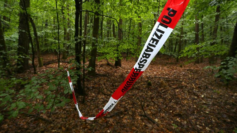 Waldstück bei Kist (Bayern): Hier wurde der Sohn von Reinhold Würth nach seiner Entführung gefunden