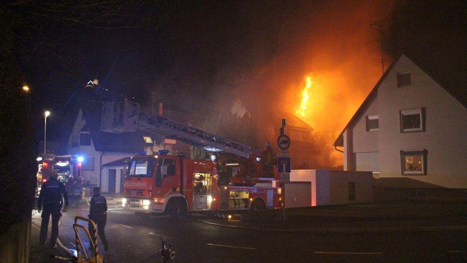 Nachrichten aus Deutschland: Feuer in Winnenden