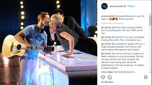 "Katy Perry und ""American Idol""-Kandidat"