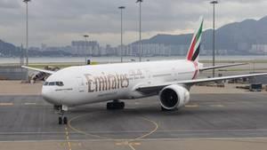 In Entebbe kam es zu einem Zwischenfall an Bord einer Emirates-Maschine