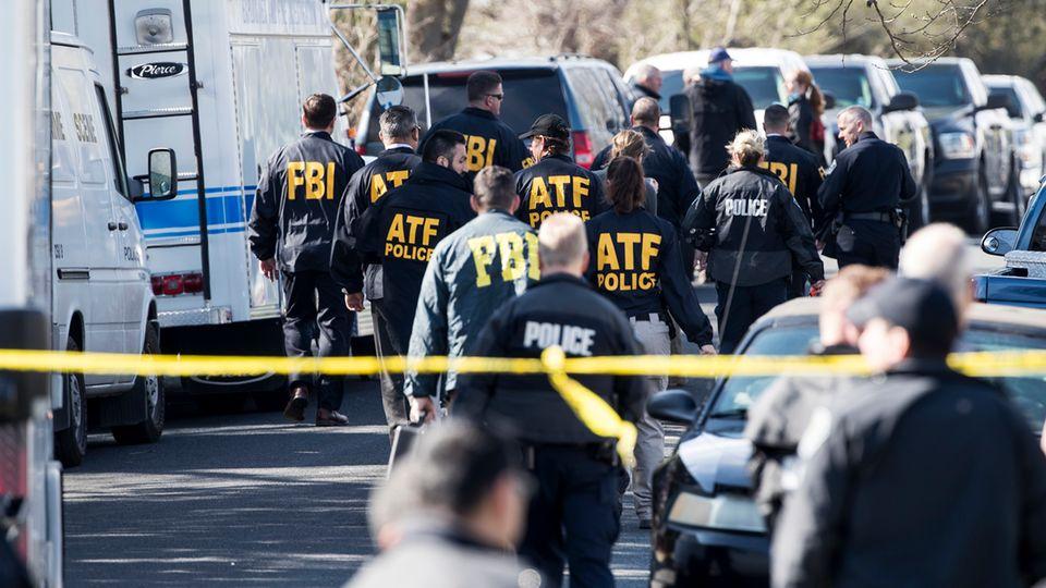 Paketbomben-Serie in Austin, Texas - FBI am Tatort
