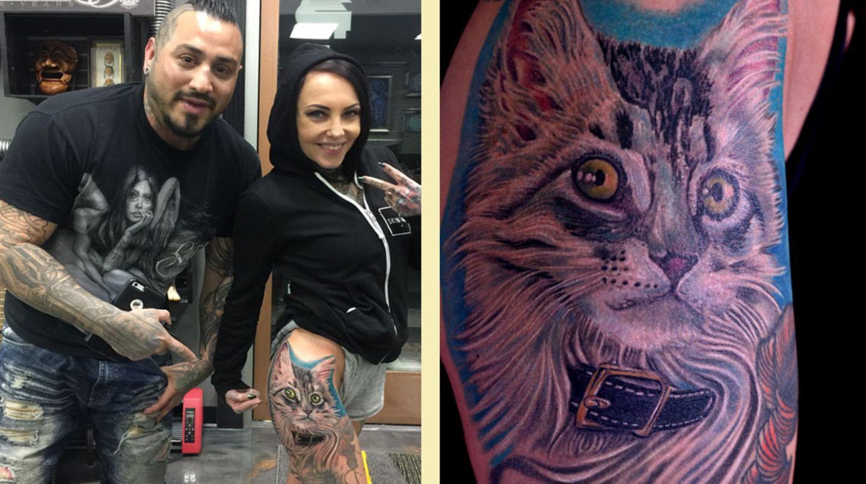 Katzenhaar Tattoos