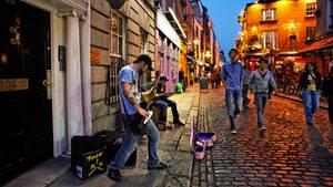 Dublin ist voller Musik – in den Pubs und auf den Straßen