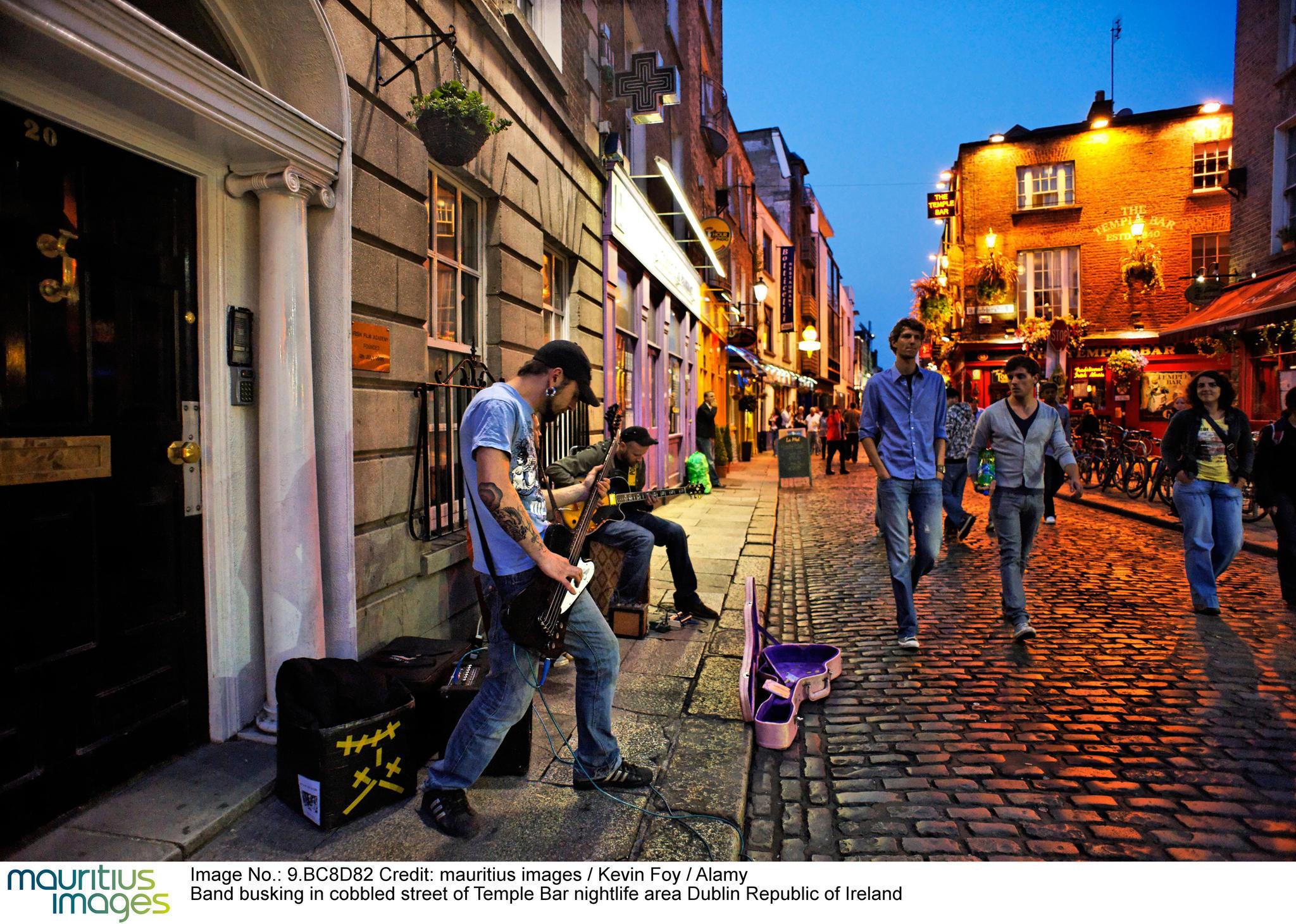 Dublin ist voller Musik – in den Pubs und auf den Straßen | STERN.de