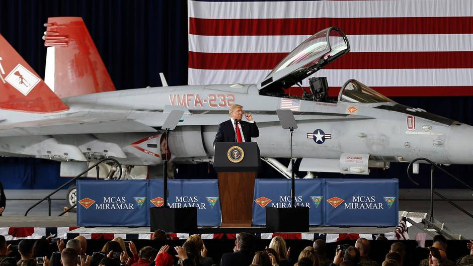 """""""Space Force"""": Streitkräfte im Weltraum – Trumps Idee belustigt das Netz"""