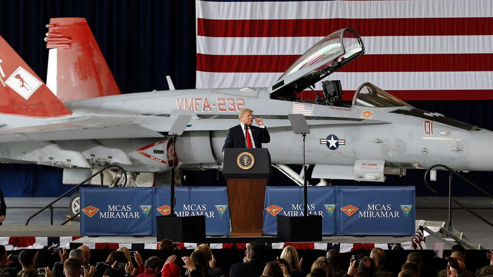 """Raumfahrt: Weltraum-Armee: Trump gründet """"Space Force"""" – um Amerika sicherer zu machen"""